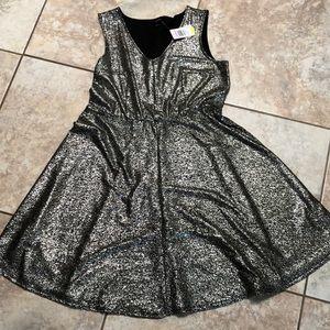 NWT Cinched Waistline Party Dress.